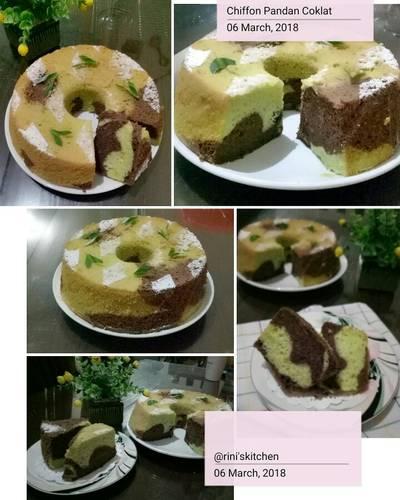 Chiffon Pandan Coklat Cake #pr_AnekaChiffon