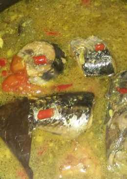 Ikan tongkol kuah kuning rasa asam pedas