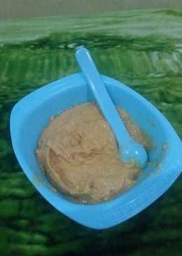 Kabocha mix kakap merah(mpasi)