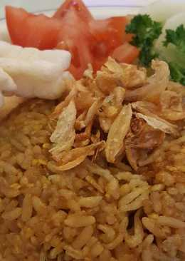 Nasi Goreng Tanpa Bumbu Ulegan