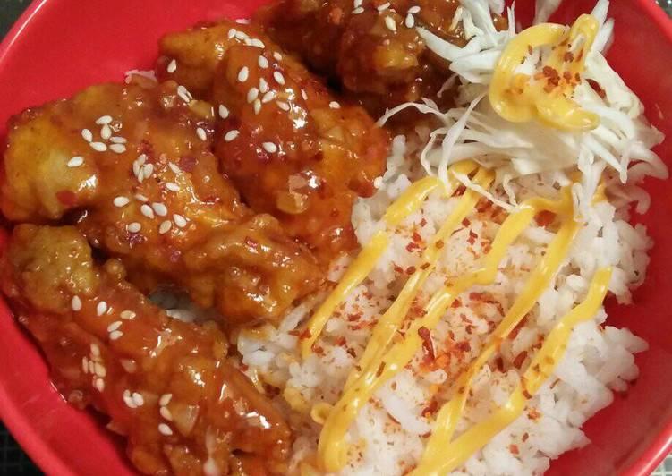 bahan dan cara membuat Spicy Chicken Wings ala ala