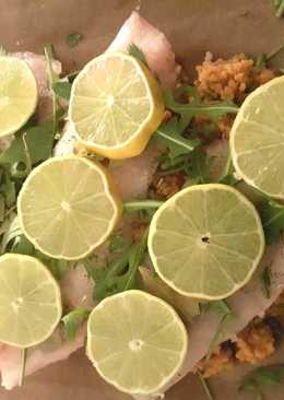 Salmon Bulgur Panggang