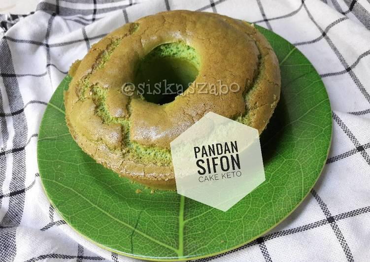 Resep Cake Keju Keto: Resep Pandan Chiffon Cake #Ketopad Oleh Siska Kurniaprima