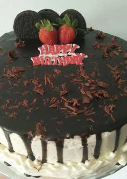 3939 resep simple chocolate birthday cake enak dan sederhana Cookpad