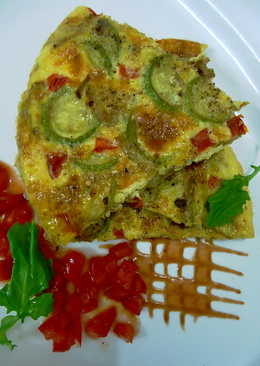 16. Zucchini FRITTATA