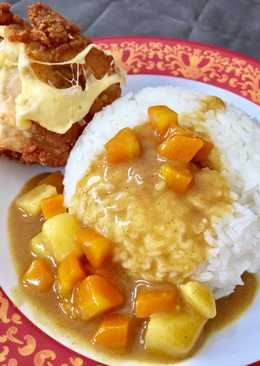 Chicken Mozzarella with Japanese Curry