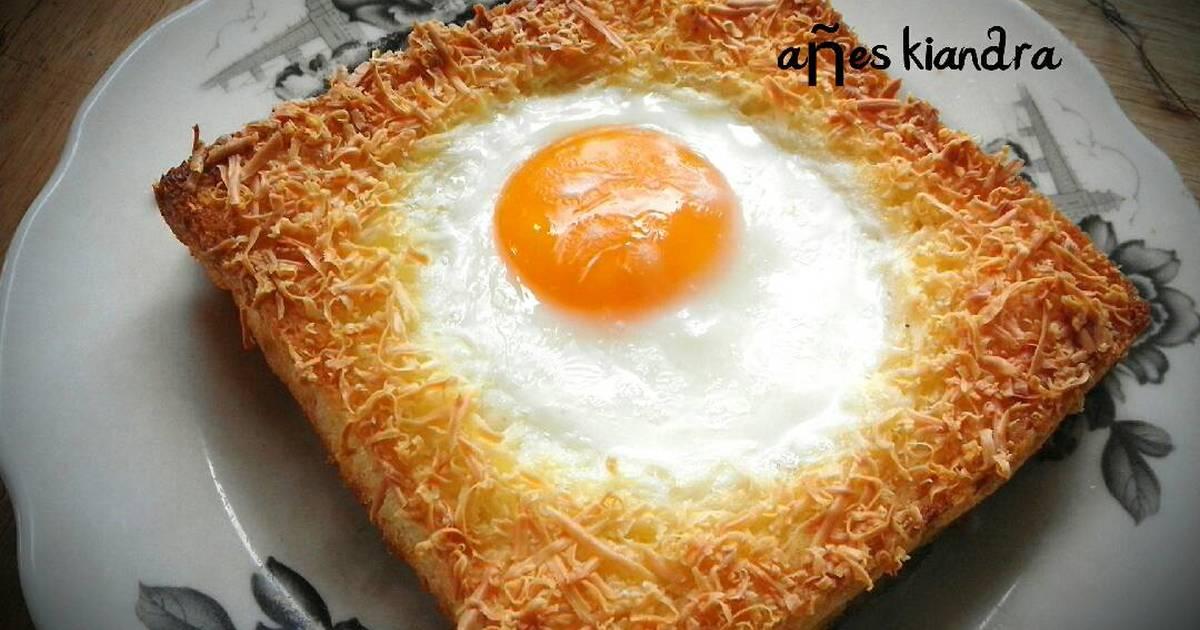 78 resep keju panggang telur toast enak dan sederhana
