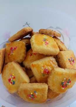 Butter cookies #kuekering