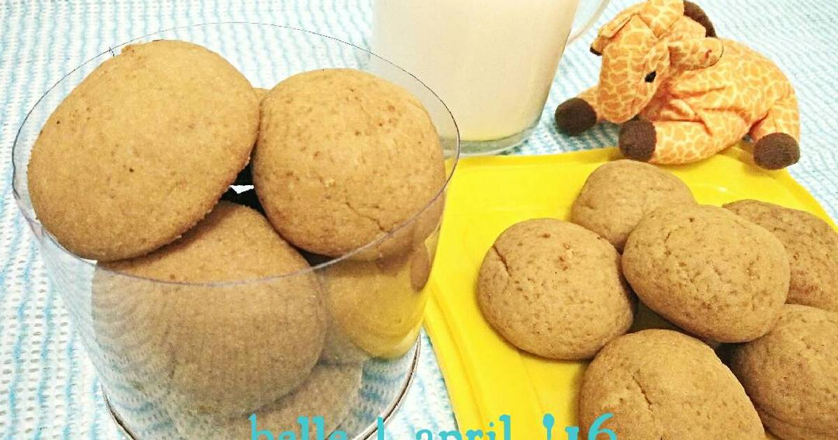Resep Palm Sugar Cookies Softy and Chewy