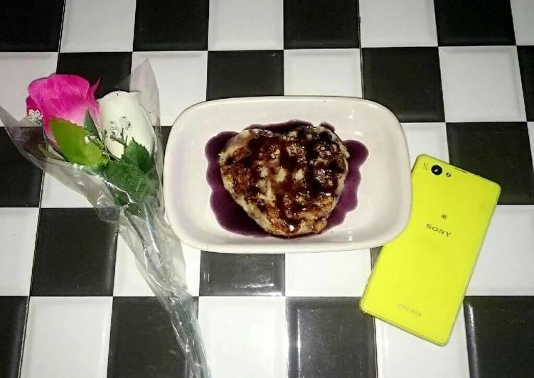 Banana pancake 2bahan sangat simple untuk breakfast