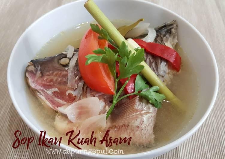 Resep Sop Ikan Gurame Kuah Asam - Amalia (www.dapurngepul.com)
