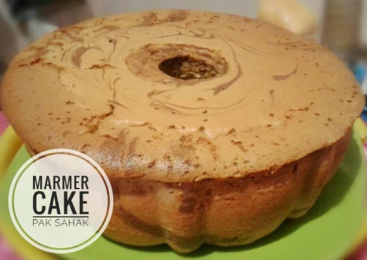 Resep Cake Tape Jadul: Resep Marmer Cake Jadul Pak Sahak (All In One Methode