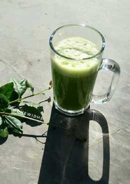 Green juice /jus sayur /jus sehat /asi booster
