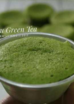 Bolu Green Tea / Bolu Matcha kukus