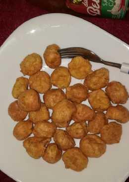 Chicken cheese ball (camilan debm/keto)