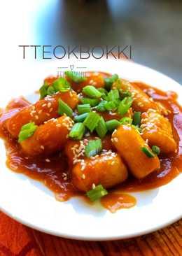 TteokBokki/ stir fried rice cake