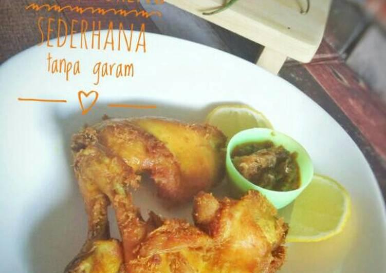 Resep Masakan Ayam Bumbu Rujak Tanpa Santan