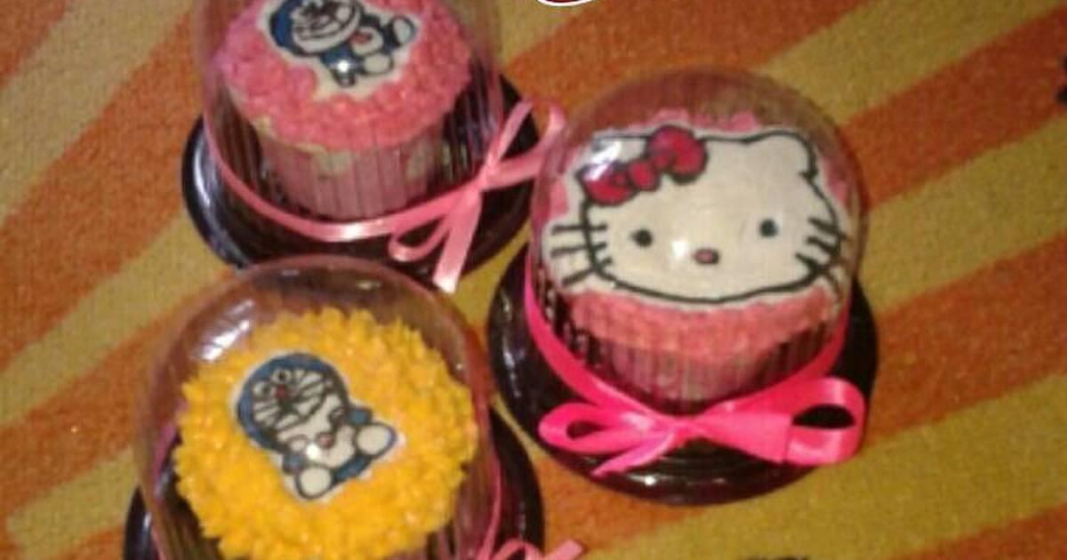 Resep Cake Tanpa Telur Jtt: Cupcake Tanpa Telur