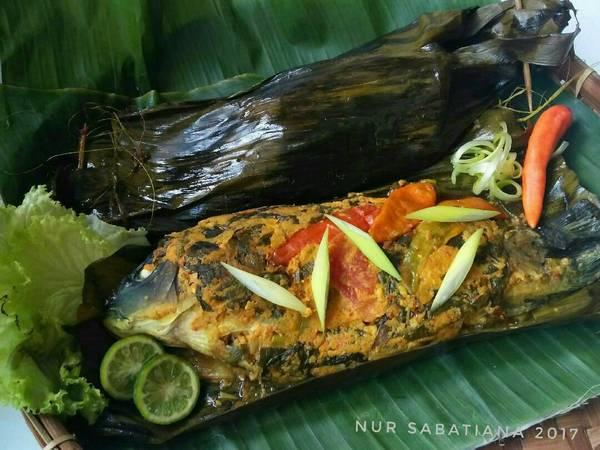 Pepes Ikan Mas Duri Lunak #pr_masakanbungkusdaun