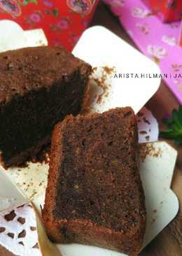 Cupcakes Pisang Coklat