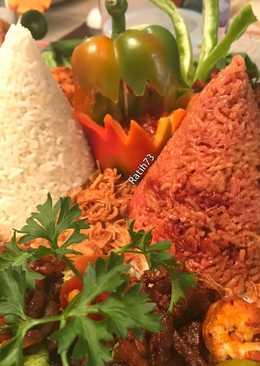 Nasi Tumpeng Merah Putih