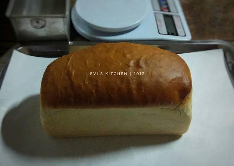 yang dibuat oleh Evi Wijayanti dapat disajikan  Resep Roti tawar (eggless) lembut ?? Dari Evi Wijayanti