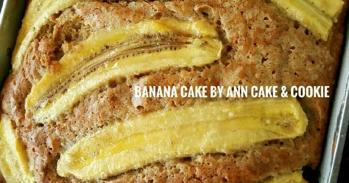 Resep Banana Cake Khas Jepang: Bolu Pisang Panggang
