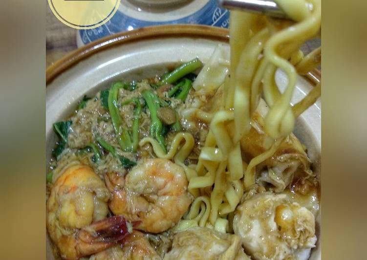 Lomie udang & bakso ikan #RabuBaru_Cookpad #BikinRamadanBerkesan