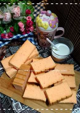 Coconut ogura cotton cake (OCC Coconut)