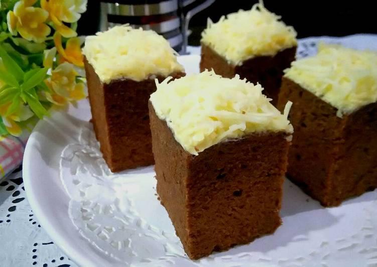 Resep Cake Keju Jepang: Resep Cake Coklat Keju Oleh Servia Madian.