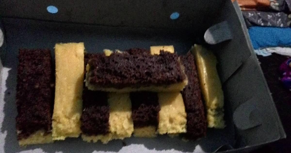 Resep Cake Kukus Keju Coklat: Resep Kue Lebaran: Resep Cake Kukus Lapis Coklat Keju