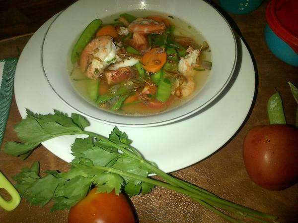 Sup Udang Kapri