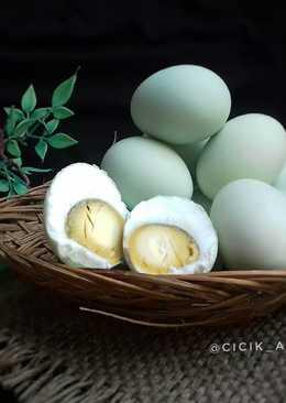 Telur asin homemade #maree