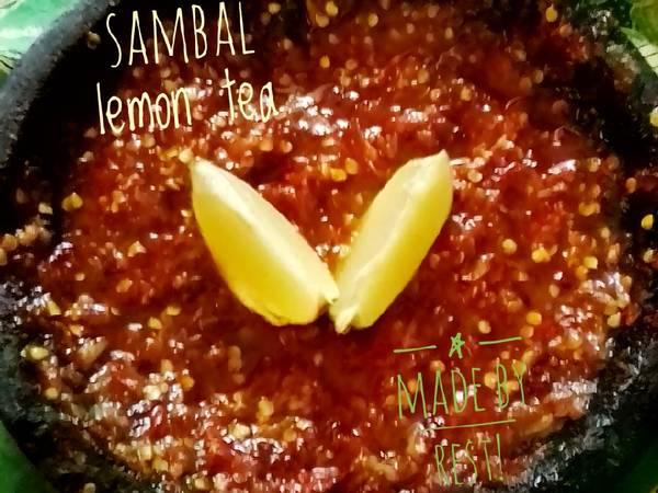 Sambal lemon tea🌶️🍋