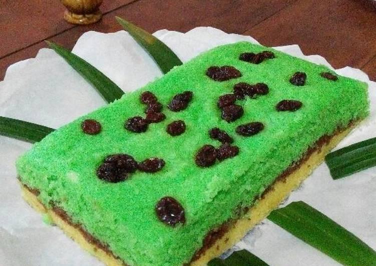 Resep Bolu Kukus Singkong Chocolate Pandan oleh Saffi Na Resep Bolu Kukus Singkong Chocolate Pandan By Saffi Na