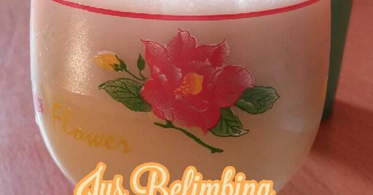 Resep Jus Belimbing