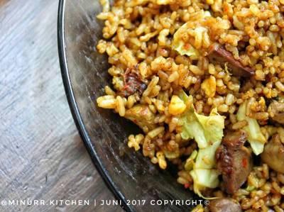 Nasi Goreng Rempah Kari