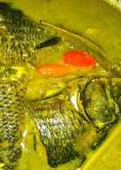 Ikan Mas Santan Bumbu Kuning