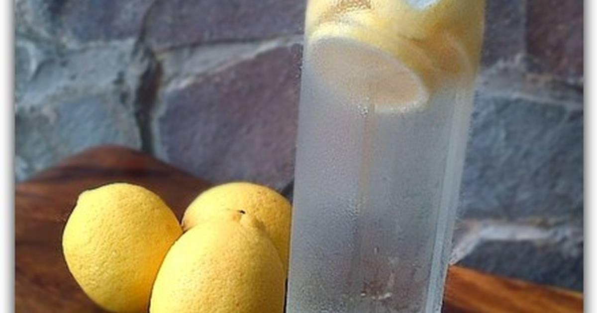 Resep Lemon Infused water