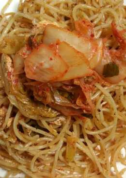 Spaghetti Kimchi Goreng