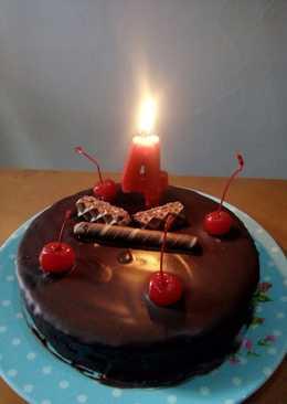 Kue Tart double coklat (kukus)