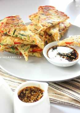 Pajeon (korean vegetables pancake)