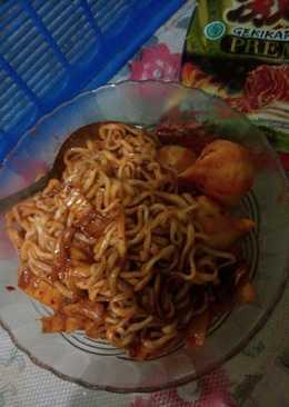 Ramen Goreng Kimchi PEDES DOWER!