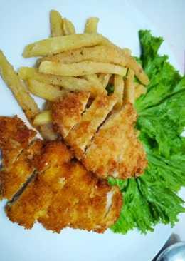 Chicken katsu #pekaninspirasi #BikinRamadanBerkesan