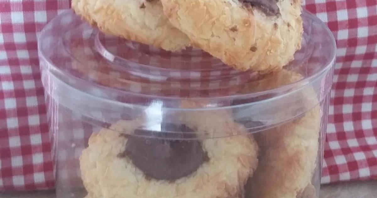 Resep Nutella Thumbprint Cookies (resep Tintin Rayner)