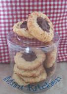 Nutella Thumbprint Cookies (resep Tintin Rayner)