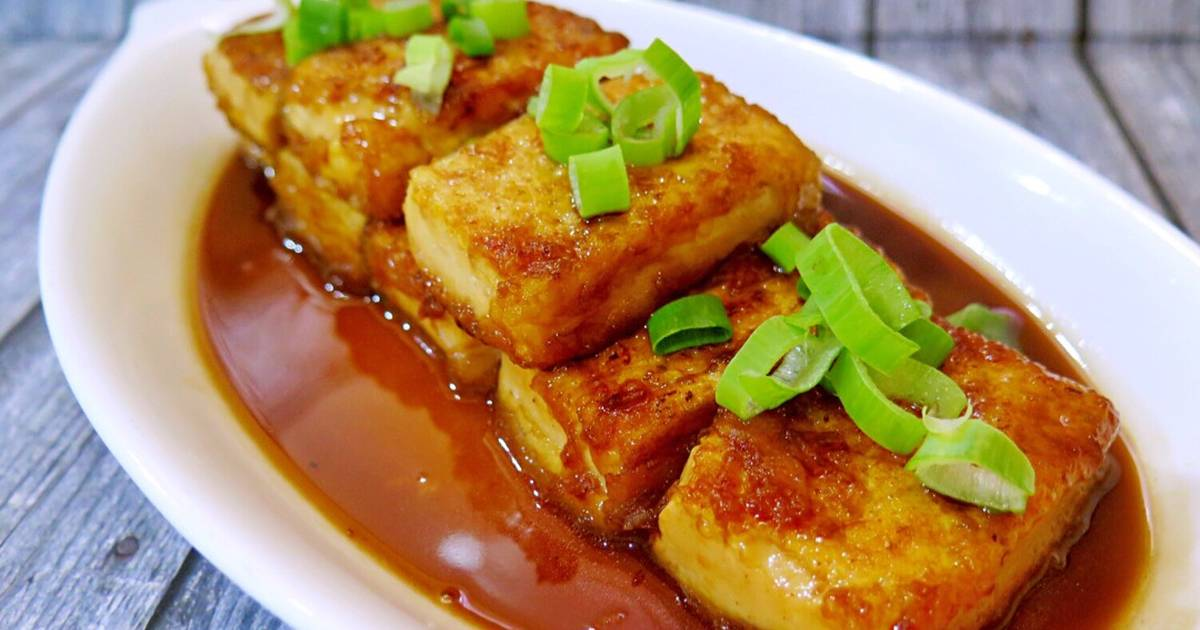 Resep Easy Tofu Teriyaki Tahu Saos Teriyaki Oleh Evi Can Cook Cookpad