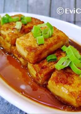 Easy Tofu Teriyaki / Tahu Saos Teriyaki