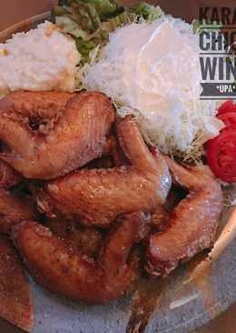 Niiyama Tebaage (karaage sayap ayam/ sayap ayam goreng)