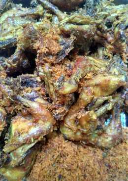 Ayam remah tumpeng